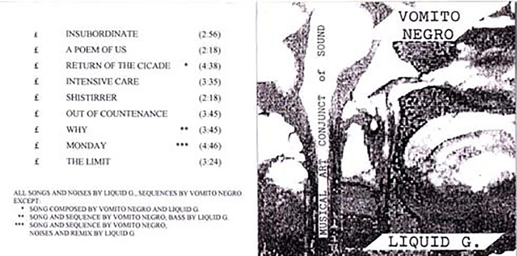 Vomito Negro & Liquid G. ‎– M.A.C.S. (ZNS TAPES, CASSETTE C-35, 1989) (MP3 192)