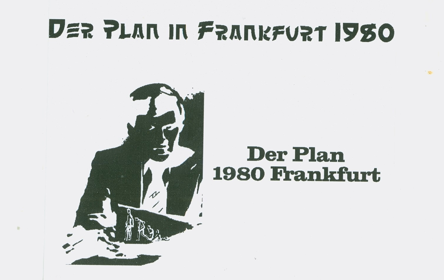 DER PLAN – LIVE IN FRANKFURT 1980 (CASSETTE C-20, SINGLE SIDED, 1980) (MP3 192)