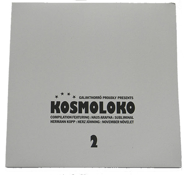 VA – KOSMOLOKO (Galakthorrö ‎– Galakthorrö 029) (Vinyl, LP, Compilation, Limited Edition, Numbered, White) (2012) (FLAC)