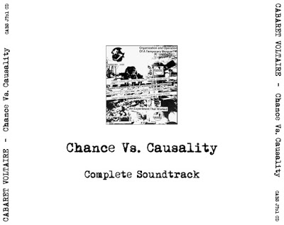Cabaret Voltaire ‎– Chance Versus Causality (CDR / Unofficial ) (FLAC)